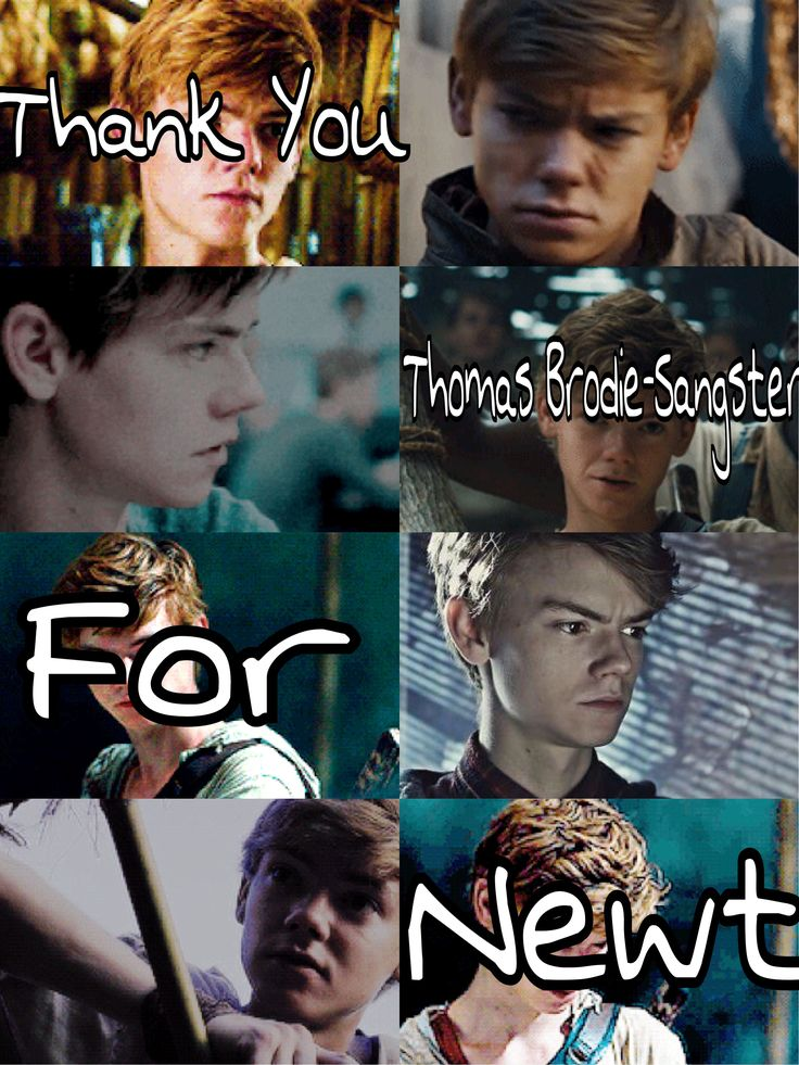 Thank you TBS ♡ we needed someone as good as you to bring newt to life ❤❤❤