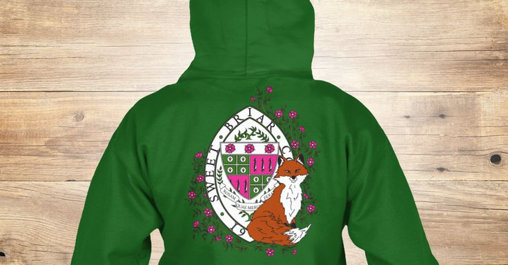 Check out this beautiful hoodie or tee made just for the SBC alumna in your life. Designed with custom artwork by Bryca Brewer '10, featuring the SBC crest with a cheeky vixen! Available in black, pink, or green. All proceeds to benefit SSB (www.savingsweetbriar.com). Please email ryan10@sbc.edu with any questions!