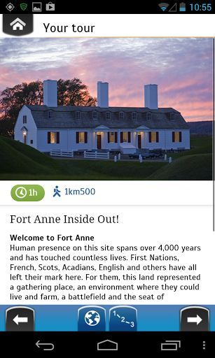 Explora Fort Anne is Parks Canada's official tour app for Fort Anne National Historic Site. It will take you on a guided tour of this important historic site so that you can experience the history, sights and sounds at your own pace. It includes a map, photos, information and quizzes that will ensure you have a memorable, informative and fun visit.  This app is the perfect travel companion for a visit to this national historic site.  <p>-Location-specific photos and information about Fort…