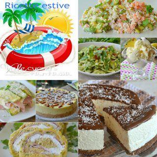 Ricette estive facili e veloci, tantissime idee dall'antipasto al dolce golose, fresche e tantissimi dolci anche senza cottura