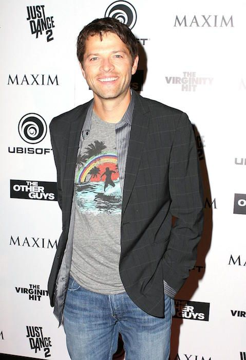 American actor and published poet, Misha Collins...