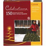 Clear Net Lights 4' x 6' 150 Clear Net lights christmas deals week