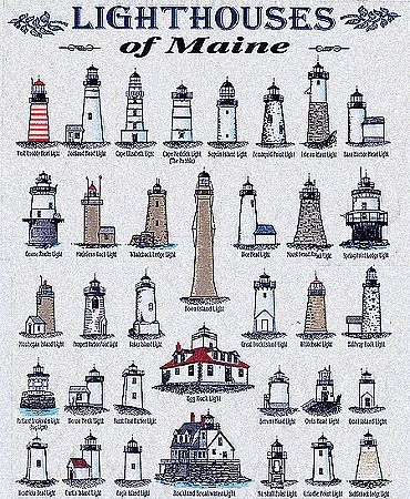 Maine Lighthouses More Than 60 Lighthouses Dot The Maine Coast From