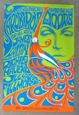 THE DOORS YARDBIRDS 1967 CONCERT POSTER FILLMORE SF 5TH