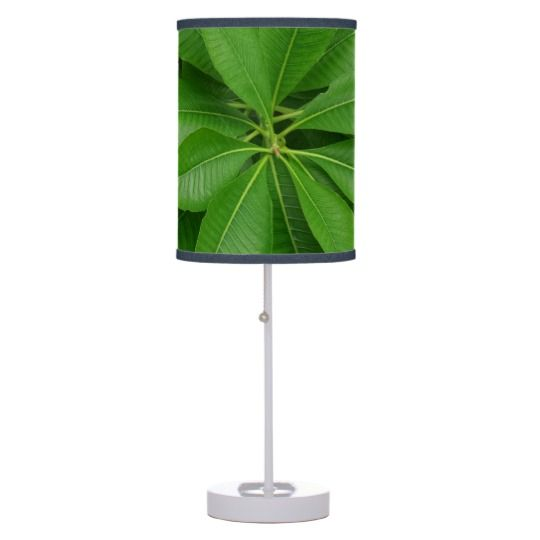 #zazzle #Green #Leafs #Plant #Table #Lamp #home #office #gift #giftidea