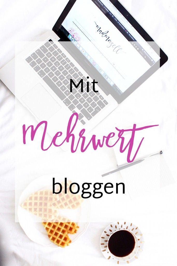 Im heutigen Blog Tipps Post erkläre ich euch, warum Mehrwert für euren Blog so wichtig ist und wie ihr diesen erschafft!