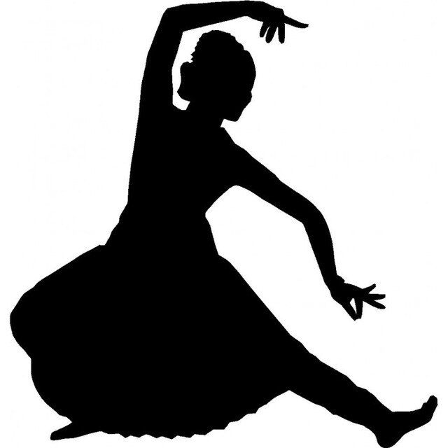 Reusable Stencils Woman Dancing In 2020 Dancing Drawings Dancers Art Dance Silhouette
