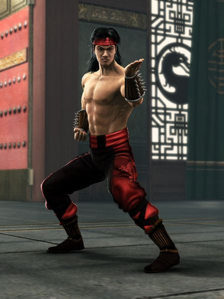 Liu-Kang-Mortal Kombat champion