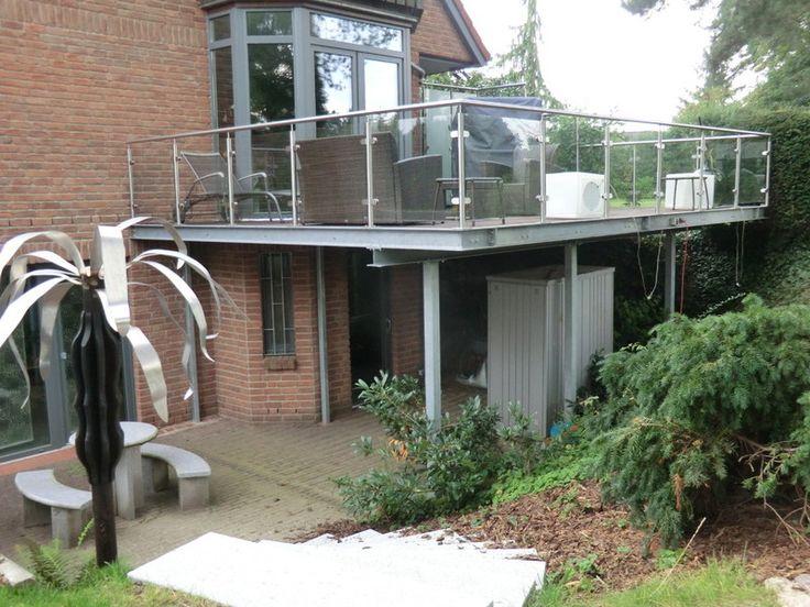 Die besten 25+ Geländer balkon Ideen auf Pinterest   Bodenplatten ...