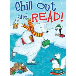 Chill Out And Read Poster Unique Library Reading Reading Challenge