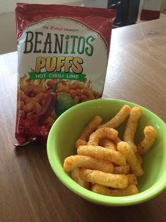 Vegan puffs! Thank you Beanitos for these yummy bean-based chips. http://brinx.it/wG4