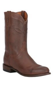 Lucchese 1883 Men's Tan Burnished Ranch Hand Roper Boot | Cavender's