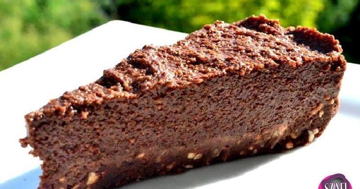 Nyers vegán, paleo csoki torta      Sütés nélküli Paleo - Vegán sütemény recept    Tészta:   80 g Szafi Fitt zsírtalanított mandula liszt...