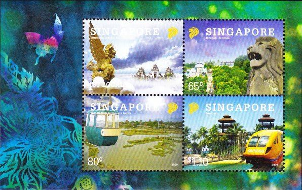2010 Indonesia - Singapore Joint Issue. Issued date: 28 October 2010.