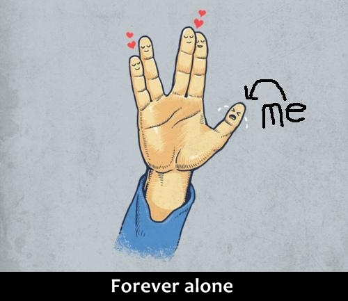 My love life described by Spock ;)