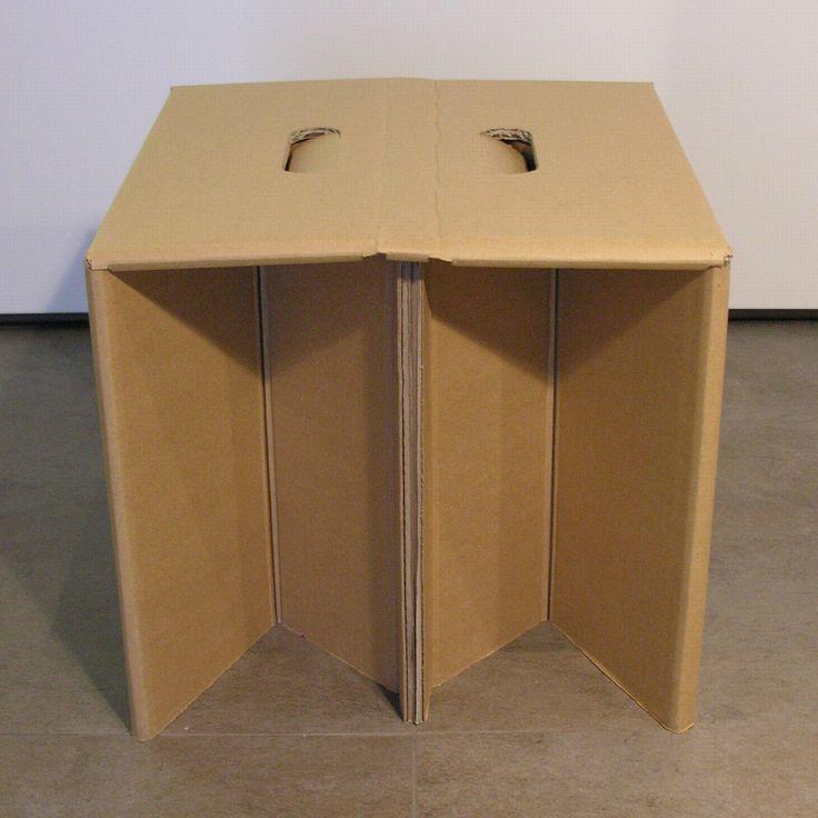 7 besten pacalowski bilder auf pinterest hocker wellpappe und karton design. Black Bedroom Furniture Sets. Home Design Ideas