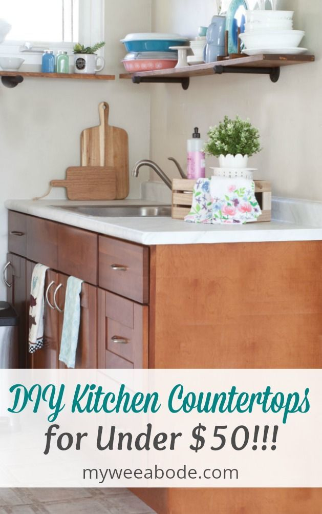 Update Your Countertops Without Replacing Them Cheap Countertops