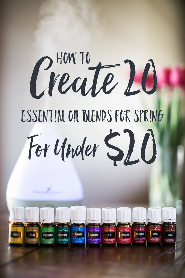 Free downloadable PDF | How to create 21 of the best essential oil blends for spring for under $20 | Made with Premium Starter Kit oils, Lemongrass, Orange, Rosemary, Vitality essential oils | Best smelling Essential oils | Spring Cleaning | Free Essential Oil Recipes | Under $20 | Cheap Essential Oils | Essential Oils on a Budget | YL #3177383