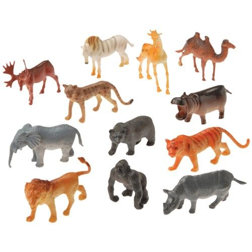 Carnival Supplies and Novelties - MINI WILD ANIMALS
