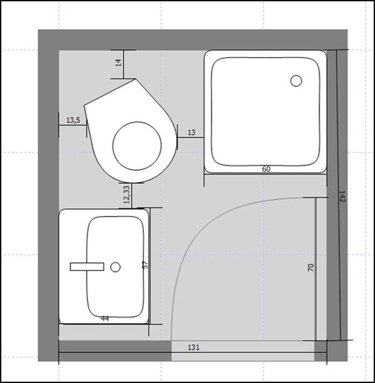 planos de cuartos de baño pequeños - Buscar con Google ...
