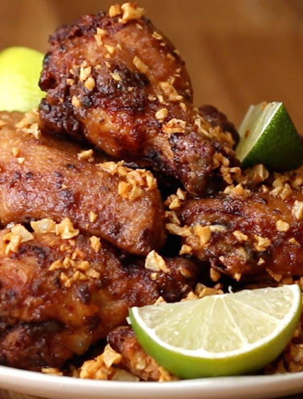 Brazilian Chicken Wings (Frango À Passarinho)