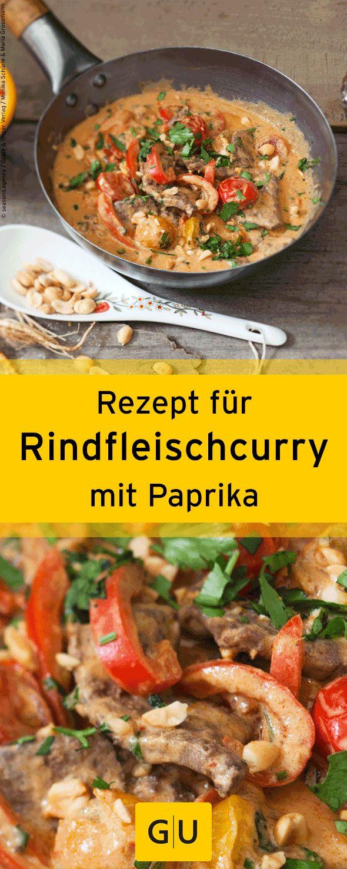 """Leckeres Rezept für Rindfleischcurry mit Paprika aus dem Buch """"Thailand"""". ⎜GU"""