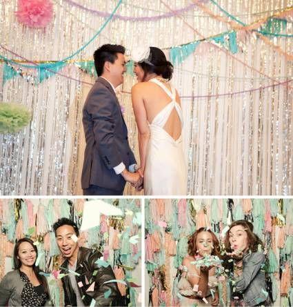 Ideas de escenarios para tu Photocall de boda