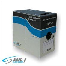 Cablu de retea Cat.5e U/UTP 4P PVC UC300, AWG 24 DR@KOM (cutie 305m, Culoare Gri) - 10150003.D