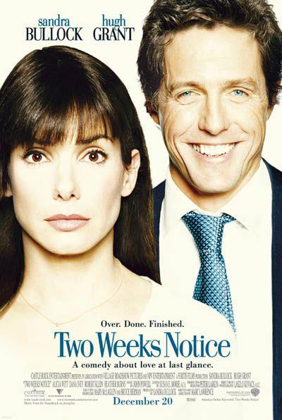 Two Weeks Notice / Ein Chef zum Verlieben (2002)