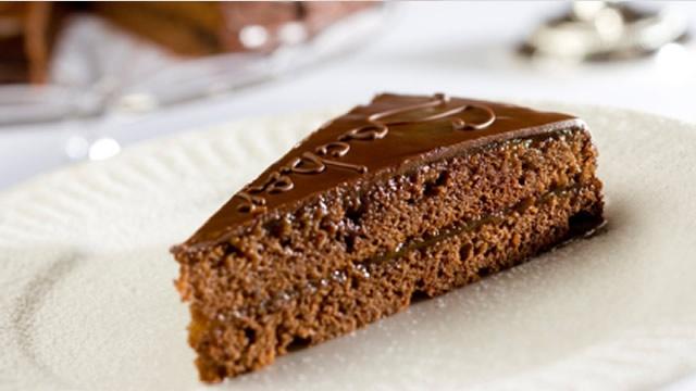 recettes desserts gateaux pour Noel  Sachertorte autrichien