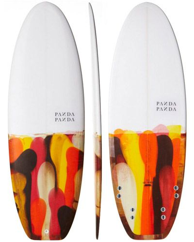 SURFSTITCH - SURF - SURFBOARDS - CUSTOM SURFBOARDS - PANDA THE DOINKER SURFBOARD - RESIN TINT