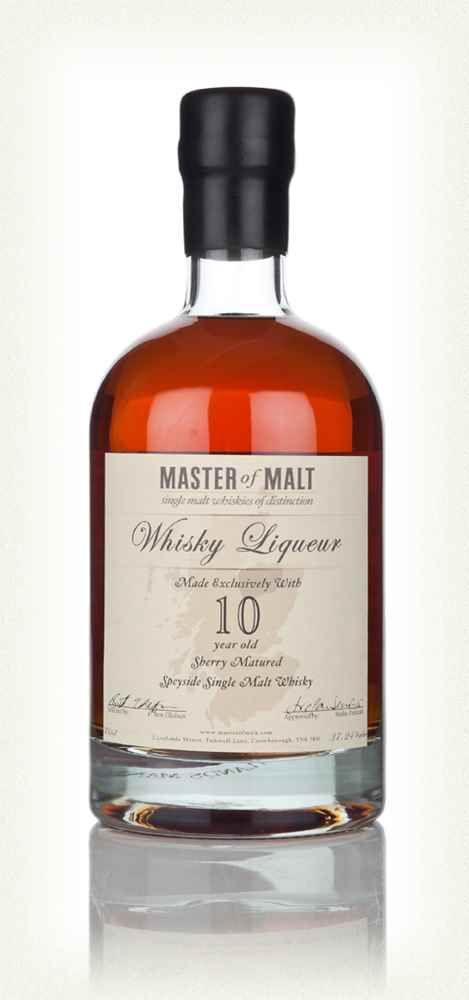 Master of Malt 10 Year Old Speyside Whisky Liqueur