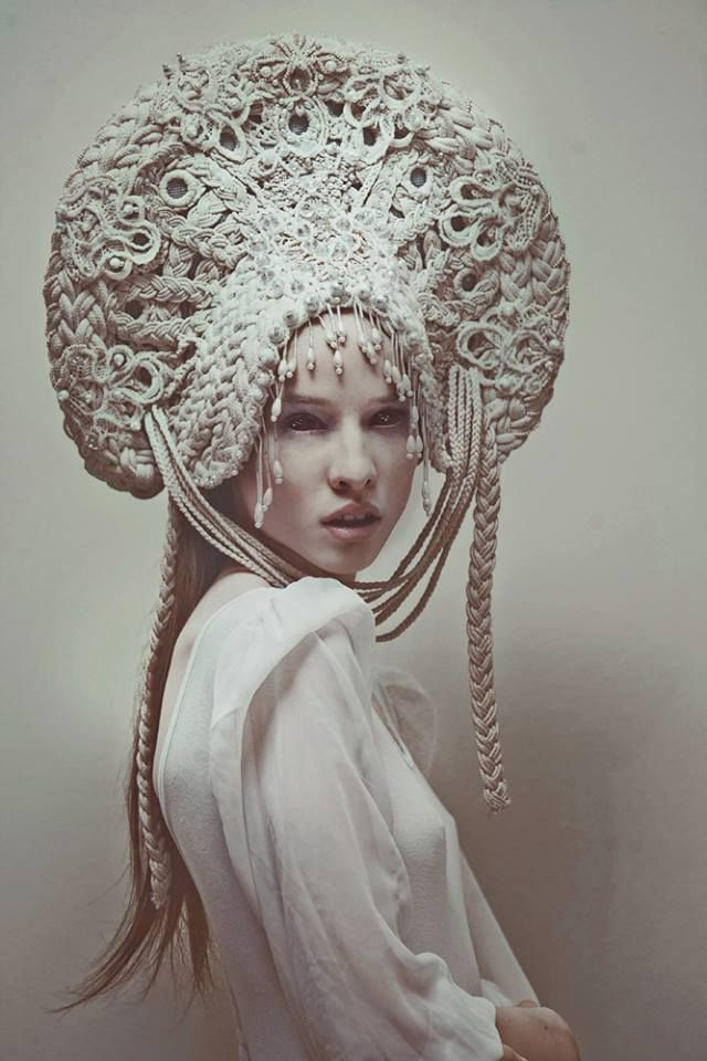 white evil (headpiece) by AgnieszkaOsipa.deviantart.com on @DeviantArt