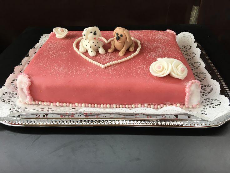 Hochzeitstorte Hundeliebhaber