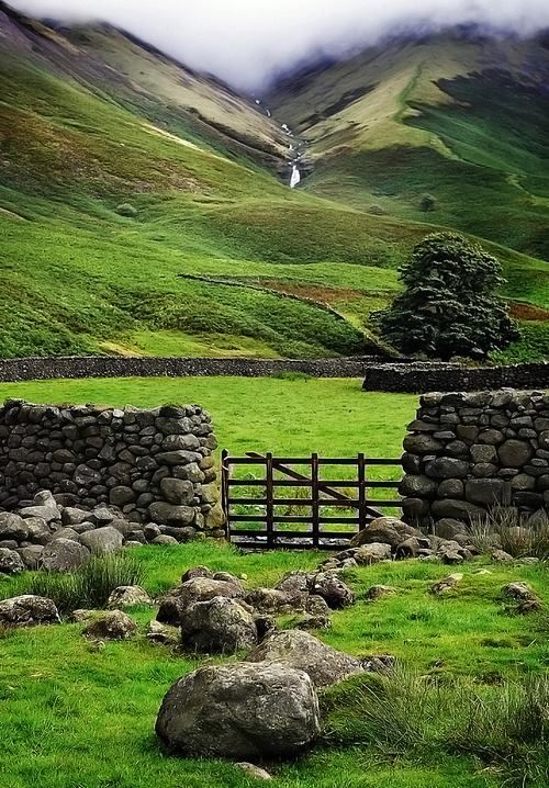 Wasdale Valley, Cumbria, Lake District ~ England