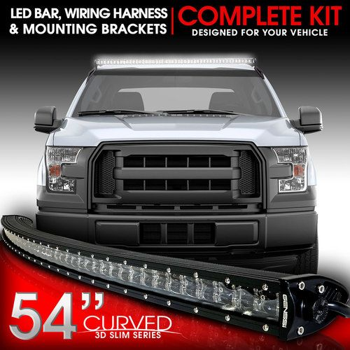 54f6251ae70f89b1cb3792ea527e8569 best 25 curved led light bar ideas on pinterest 50 led light  at bayanpartner.co
