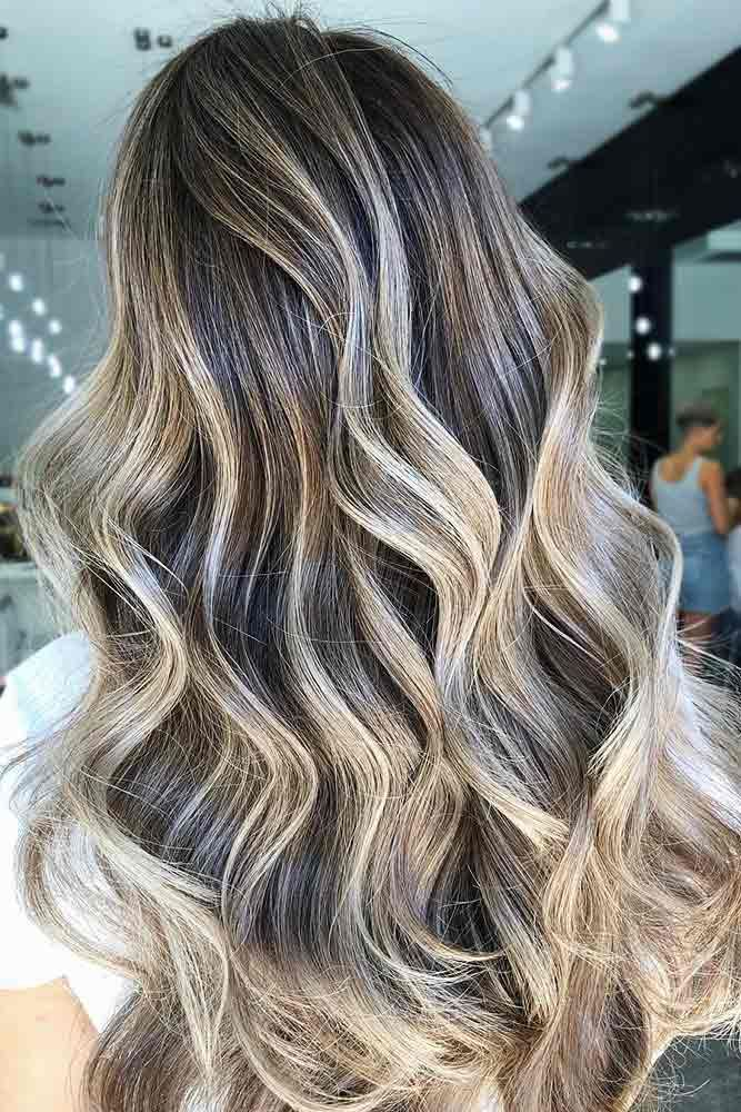 Ash Blonde Highlights #blondehair #highlights ★ Ash blonde hair color is designed for ladies who want to rock the latest…
