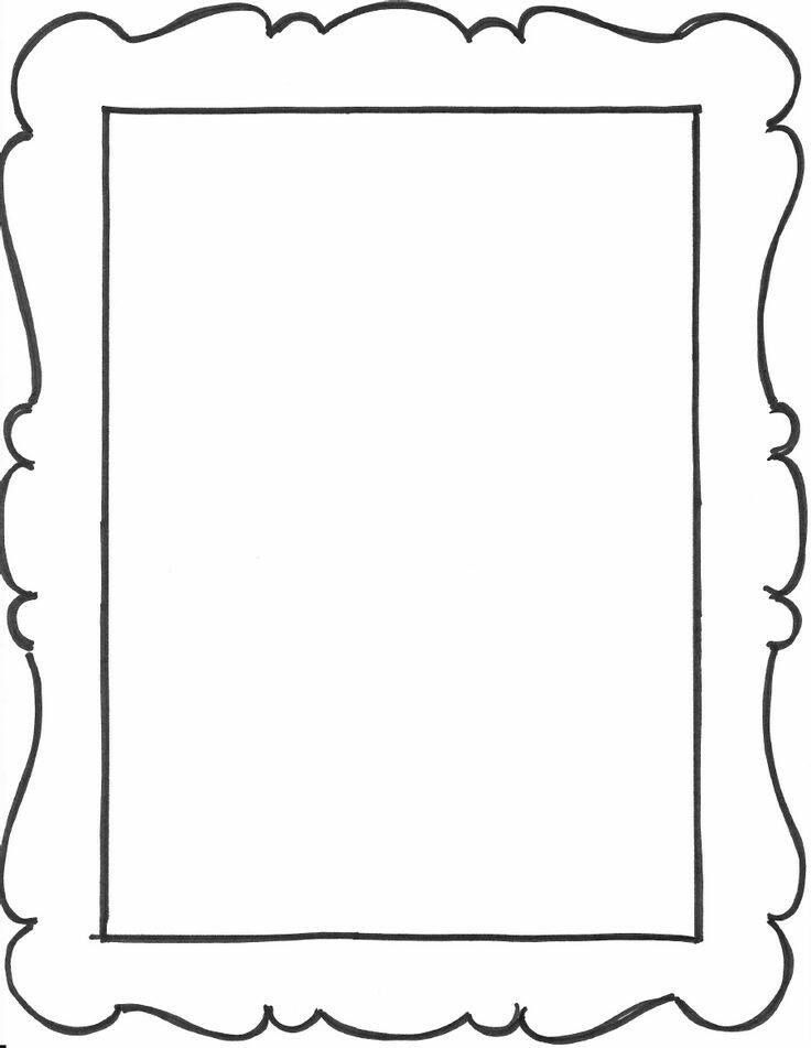 printable picture frames templates  455 best Page Borders and Printable Stationary images on Pinterest ...