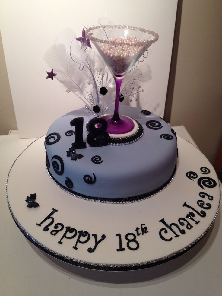 14 best Cakes images on Pinterest Cake ideas 18th birthday cake