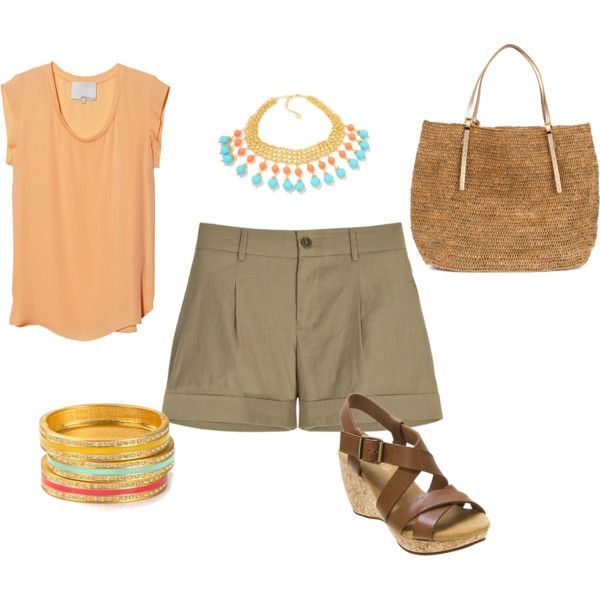 Island wear, created by livinginparaiso on Polyvore