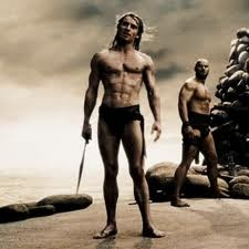 Michael Fassbender in 300
