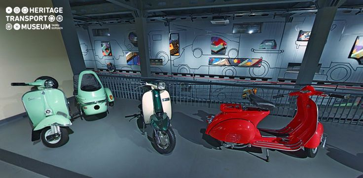 Take a look at the vintage two wheelers displayed at the museum!  #vintage #museum #scooters #vintagestyle #heritage #photography