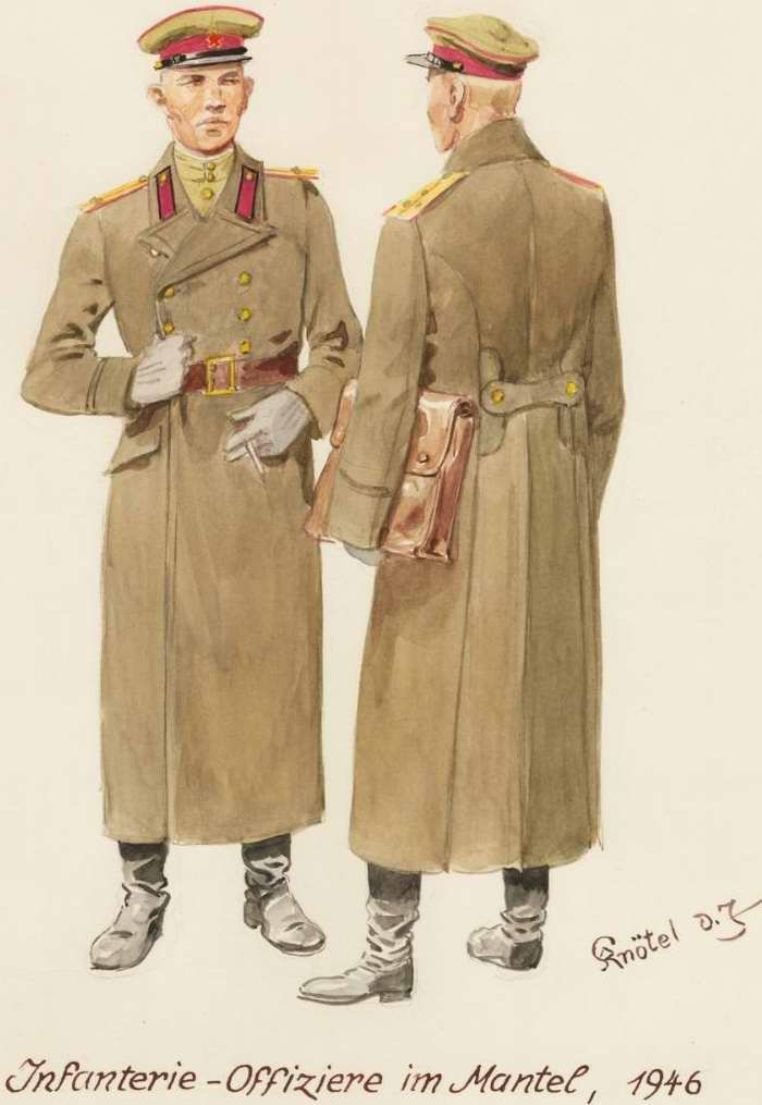 Russian uniforms by Knotel