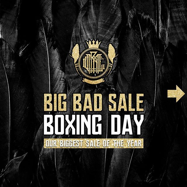Our massive Boxing Day SALE starts now! ❤️ 40% OFF w/ code: BOXINGDAY 🧡 FREE Bandana w/ orders £50+ 💛 FREE Bandana + Tshirt w/ orders £70+ 💚 FREE Bandana + Tshirt + Snapback w/ orders £90+ 💙 FREE Bandana + Tshirt + Snapback + Sunglasses w/ orders £120+ 💜 FREE Bandana + Tshirt + Snapback + Sunglasses + Sweatshirt w/ orders £150+ 🖤 www.crmcclothing.co  #boxingday #boxingdaysales #boxingdaydeals #style #darkstyle #streetstyle #freebies #love #streetwear #skatewear #alternative #fashion