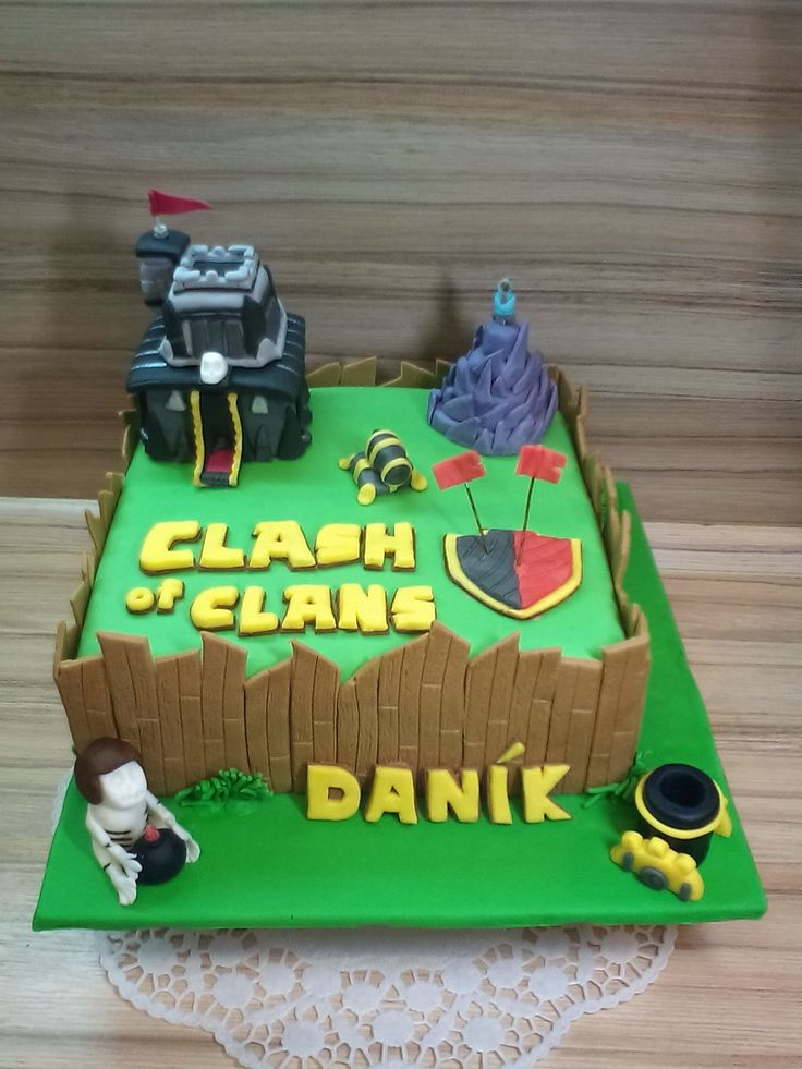 cake Clash of Clans
