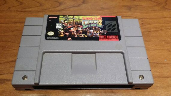 Donkey Kong country 2 Diddy kongs  quest super Nintendo game, donkey Kong country 2 snes, dkc2 snes game  Check out this item in my Etsy shop https://www.etsy.com/listing/239881510/donkey-kong-country-2-diddy-kongs-quest