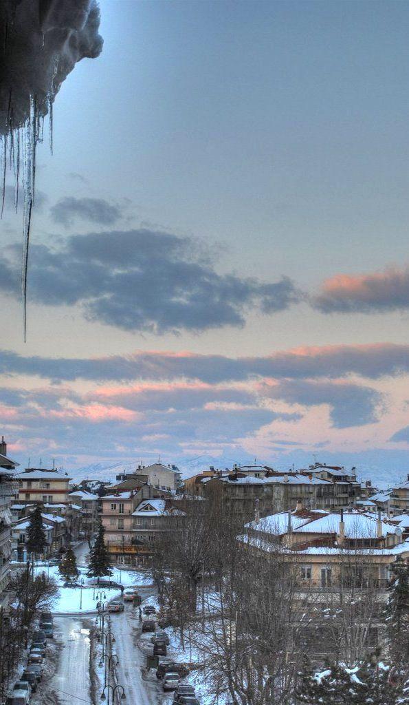 Snowy Florina, Greece (by ioarvanit on Flickr)