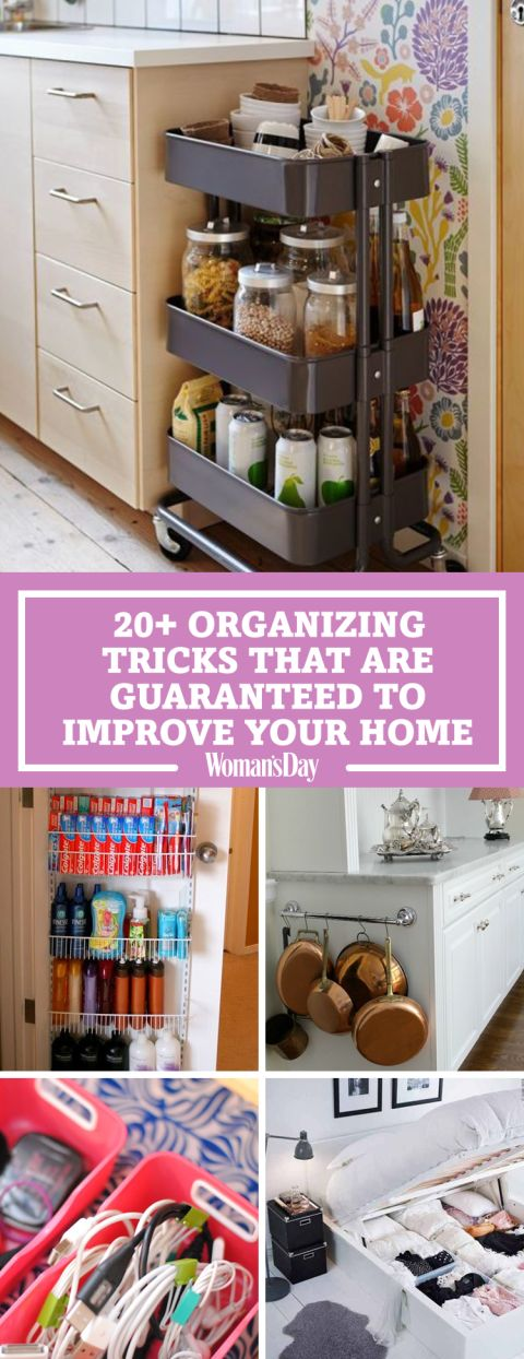 20 Organizing Tricks That Are Guaranteed To Improve Your Home