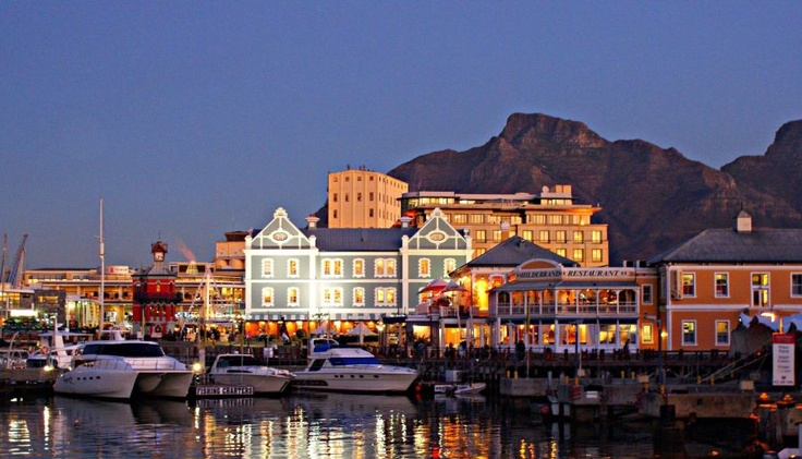 Capetown, South Africa.  So beautiful, but so many things I would love to go back and see - and the wonderful friends I made!