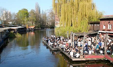Club Der Visionaere – a collection of canalside shacks near the Spree in Kreuzberg – is the destination for those who never want the party to end.